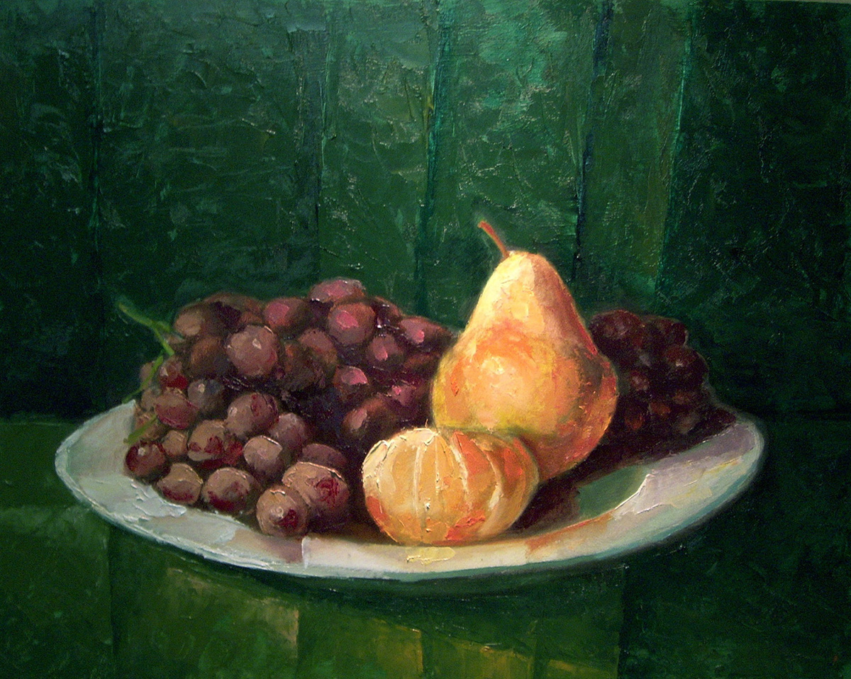 Grapes, Pear, Clementine  Image