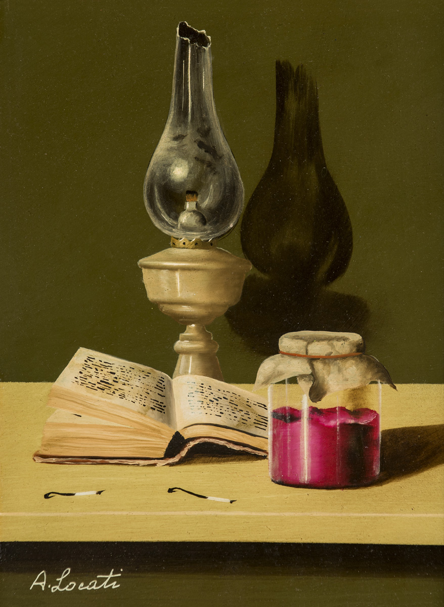 Still Life With Oil Lamp  Image
